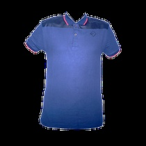 Exclusive Intersport Polo Shirt with Synthetic Leather by Pria Punya Selera